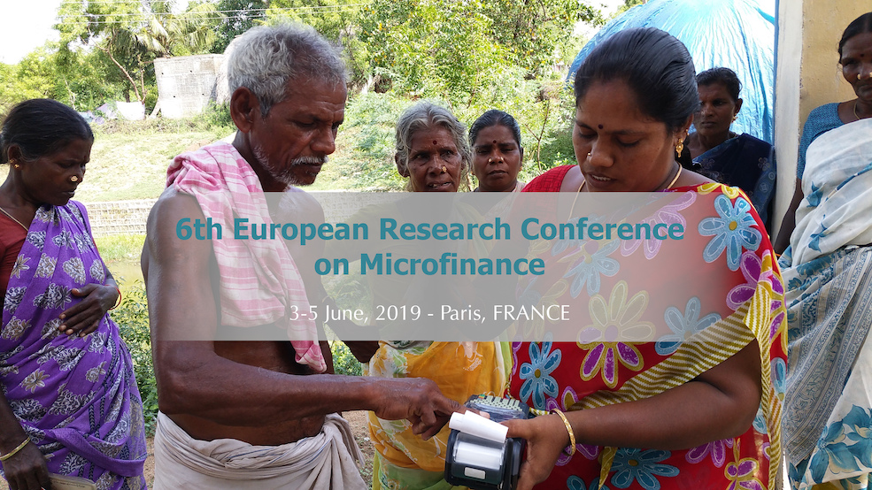 6th European Research Conference Microfinance head image