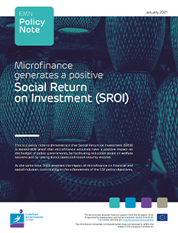 cover policy note social return on investment