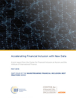 Accelerating Financial Inclusion with New Data cover