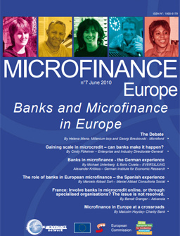 Banks and Microfinance in Europe cover