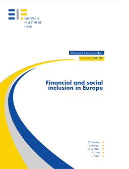 cover EIF working paper financial and social inclusion in Europe