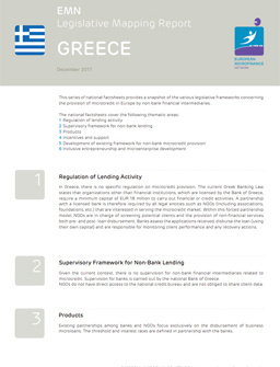 Legislative mapping report Greece