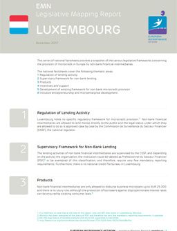 Legislative mapping report Luxembourg