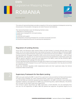 Legislative mapping report Romania