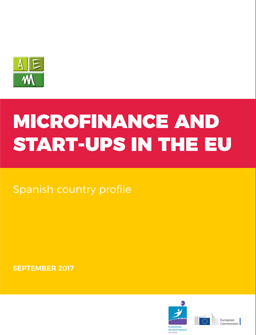 Microfinance and Start-ups in Europe: Spanish Country Profile cover