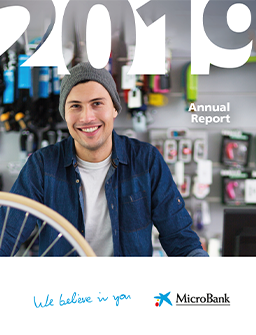 cover MicroBank - Annual Report 2019