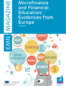 Microfinance and Financial Education: Evidences from Europe