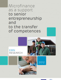 Microfinance as a support to senior entrepreneurship and to the transfer of competences