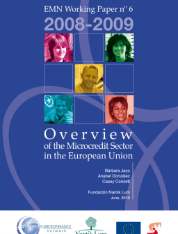 Overview of the Microcredit Sector in the European Union 2008-09 cover