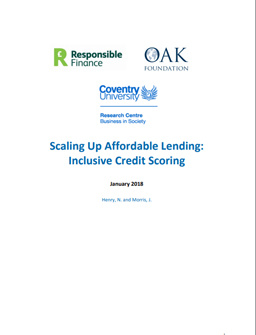 Scaling Up Affordable Lending: Inclusive Credit Scoring