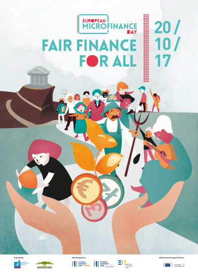 3rd European Microfinance Day Official Poster